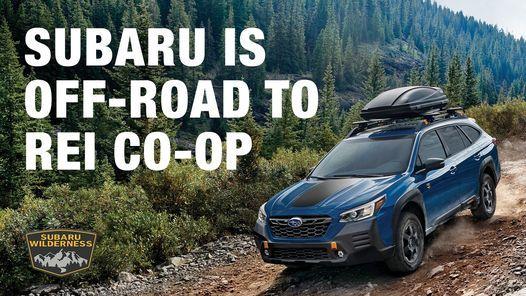 Subaru Road Trip at REI - San Diego