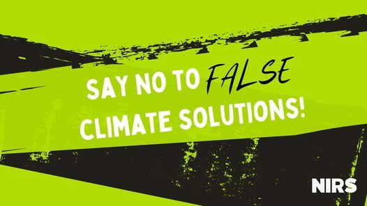 People vs. Fossil Fuels - Say NO to False Climate Solutions