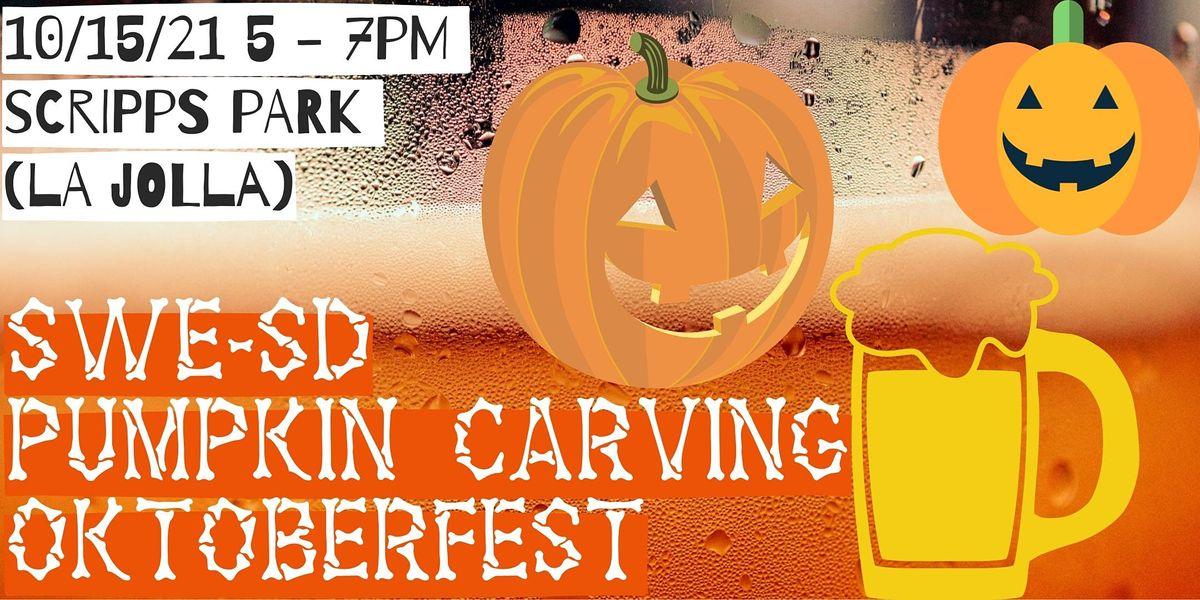 SWE-SD Pumpkin Carving Oktoberfest