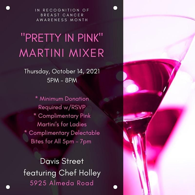 """""""Pretty in Pink""""  Benefit in honor of Breast Cancer Awareness month"""