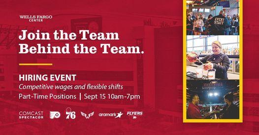 Wells Fargo Center Hiring Event