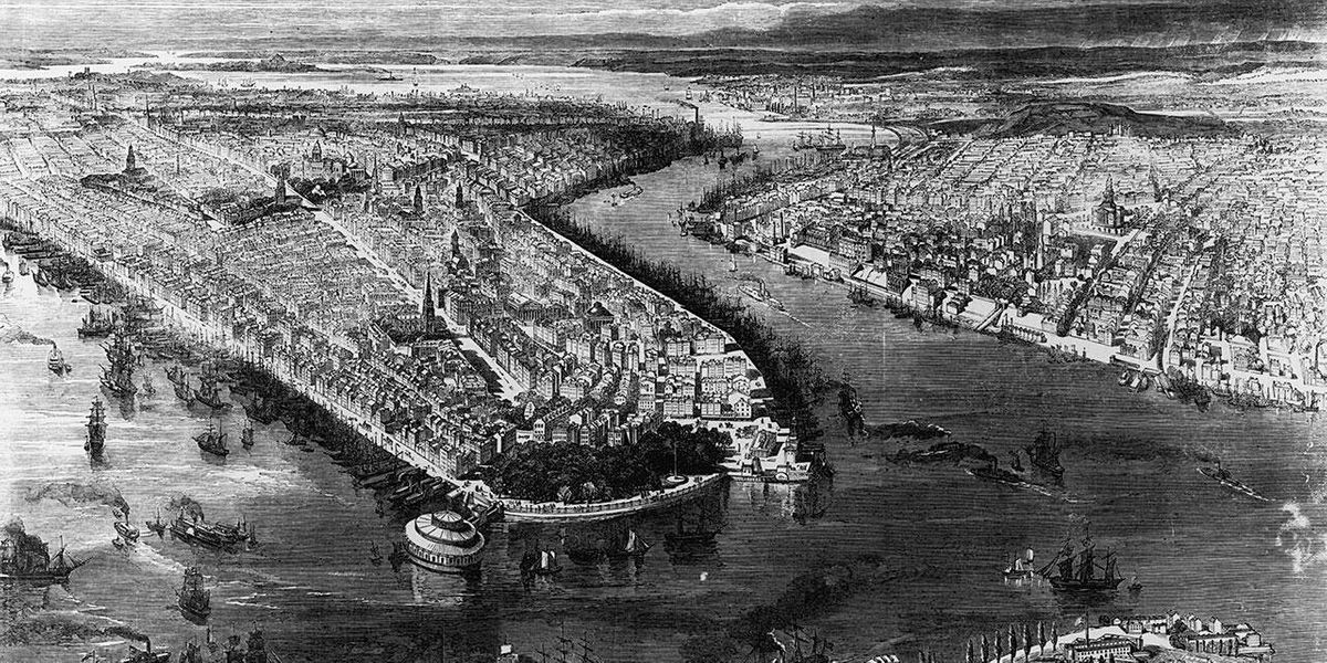 Flowing through Time: The History of the East River