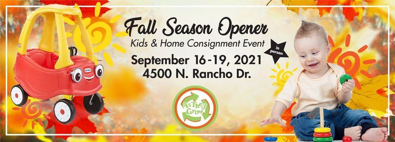 As They Grow Las Vegas's only Kids\/Home Consignment Event!
