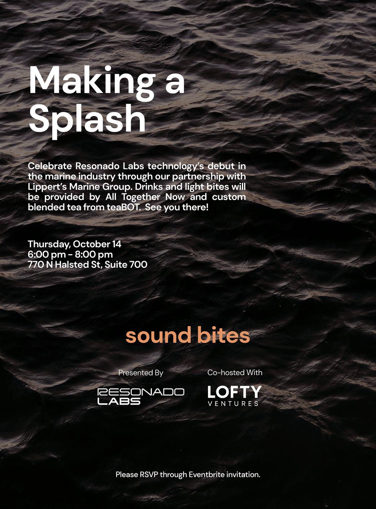 Sound Bites: A Resonado Labs Launch Celebration