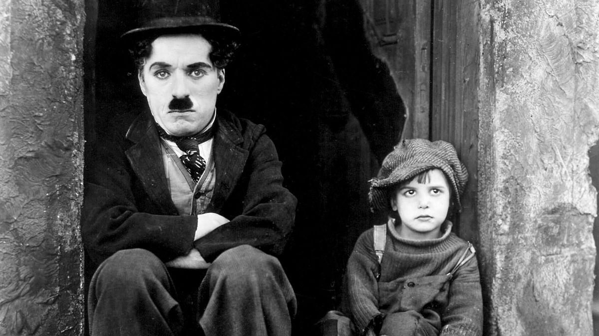 Charlie Chaplin's THE KID -- Live Improvised Organ Music by Peter Krasinski
