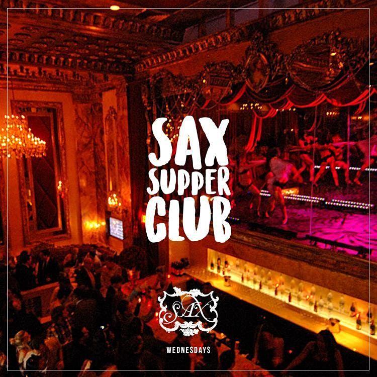 SAX Wednesdays: Complimentary Admission Until 11PM: MajorAndPerry.com