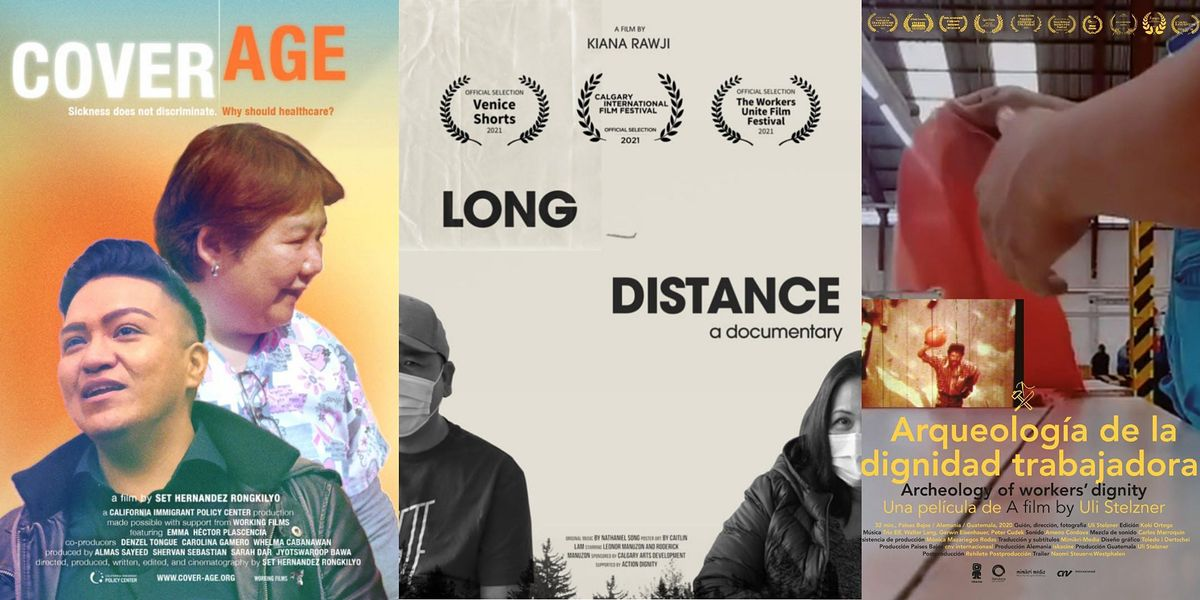 Program 22: 'COVER\/AGE', 'Long Distance', 'Archeology of Workers' Dignity'