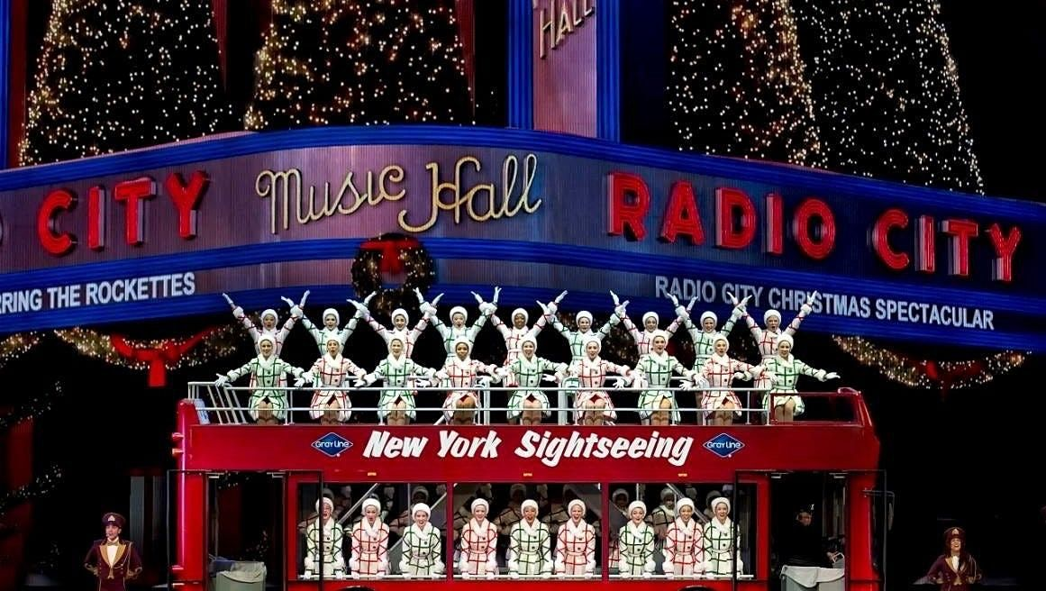 NYC Rockettes or NYC shopping