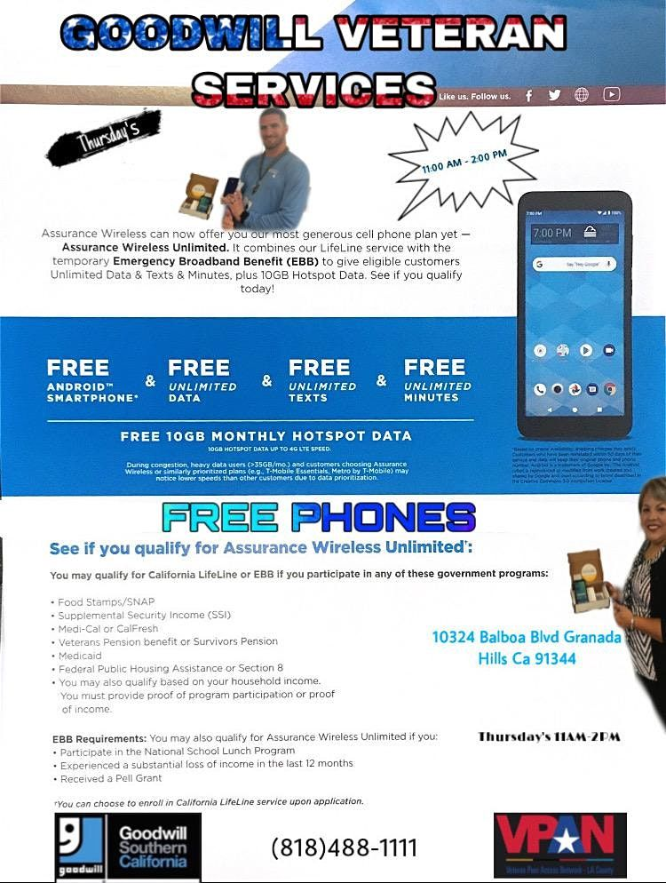 FREE PHONES WITH SERVICES