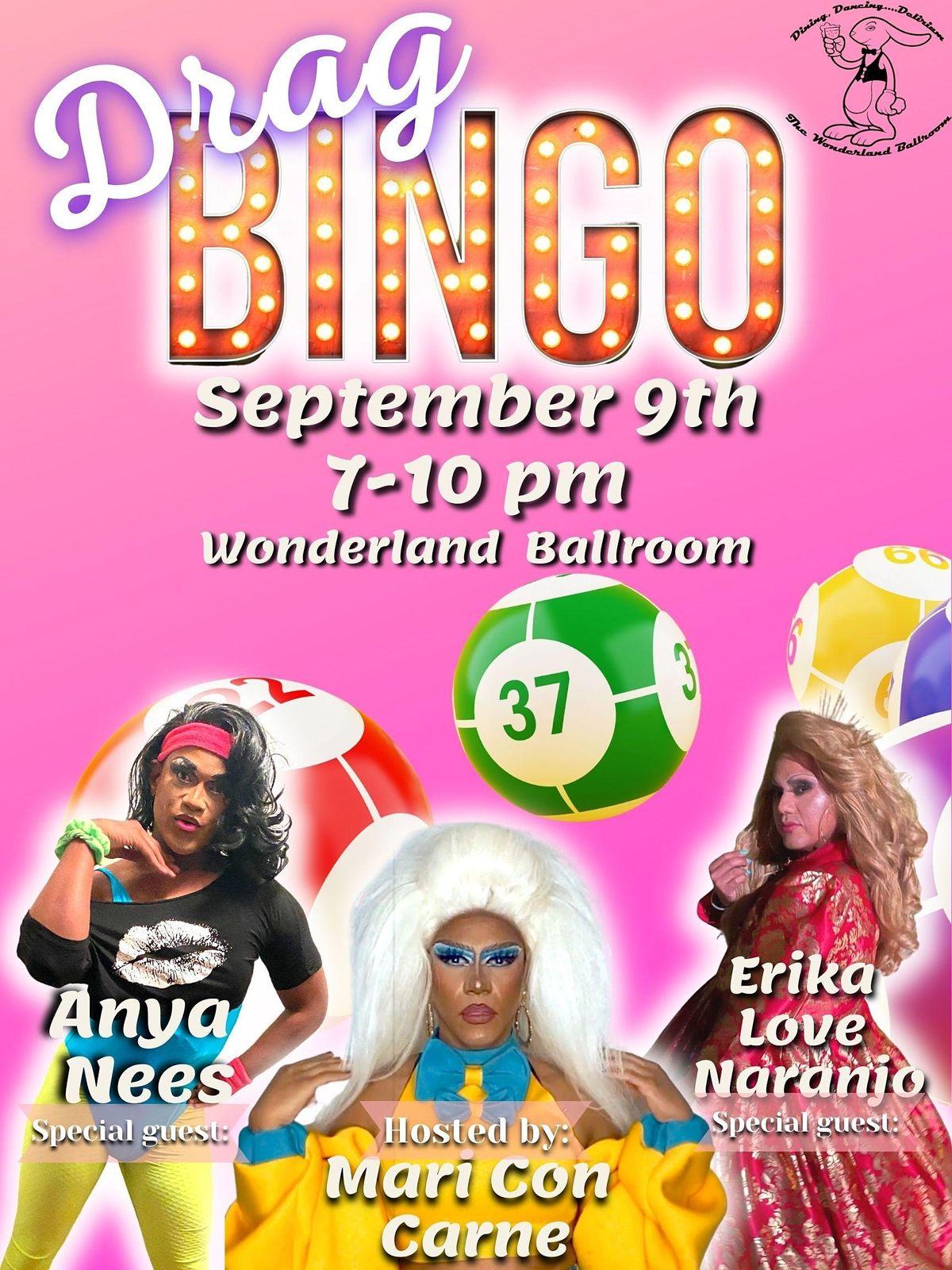 Mari Con's Drag Bingo