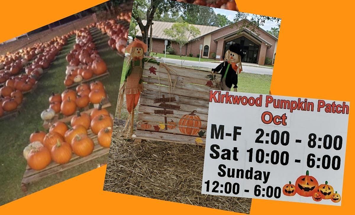 Pumpkin Patch at Kirkwood Church