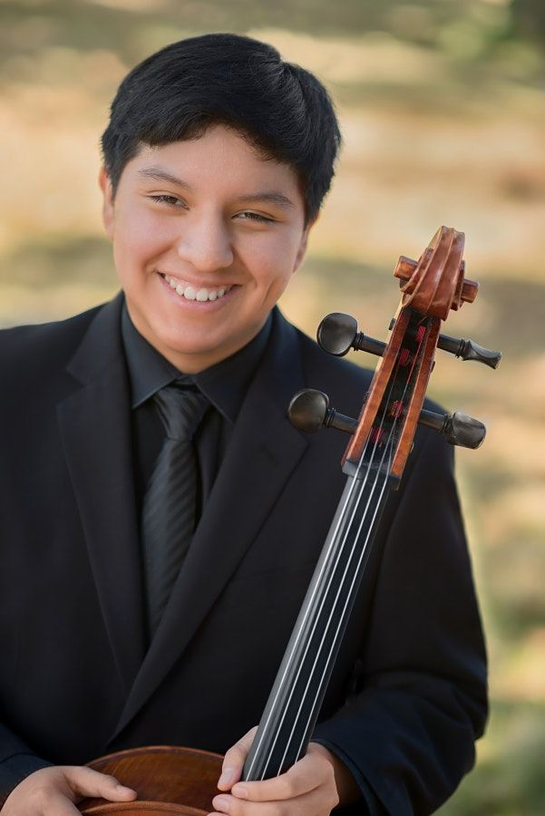 Cellist William Miguel Johnson