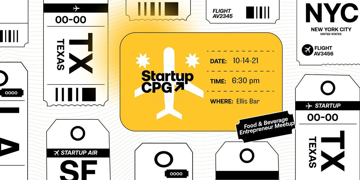 Startup CPG Austin Meetup Co-hosted by Marc Nathan - October