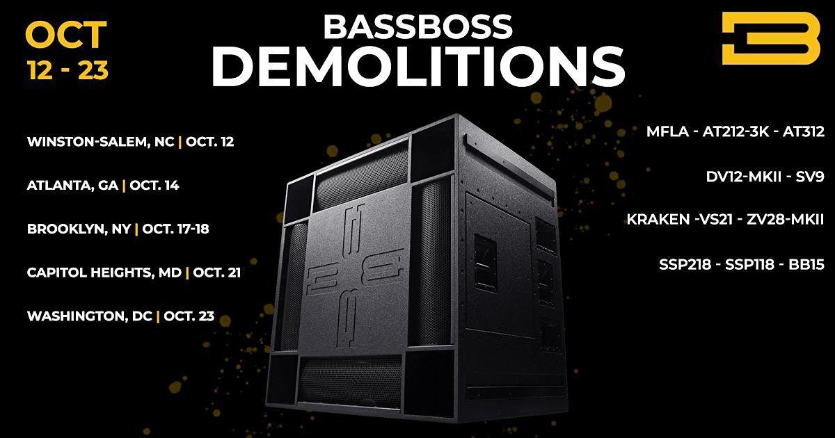 Demolition Tour | Atlanta, GA