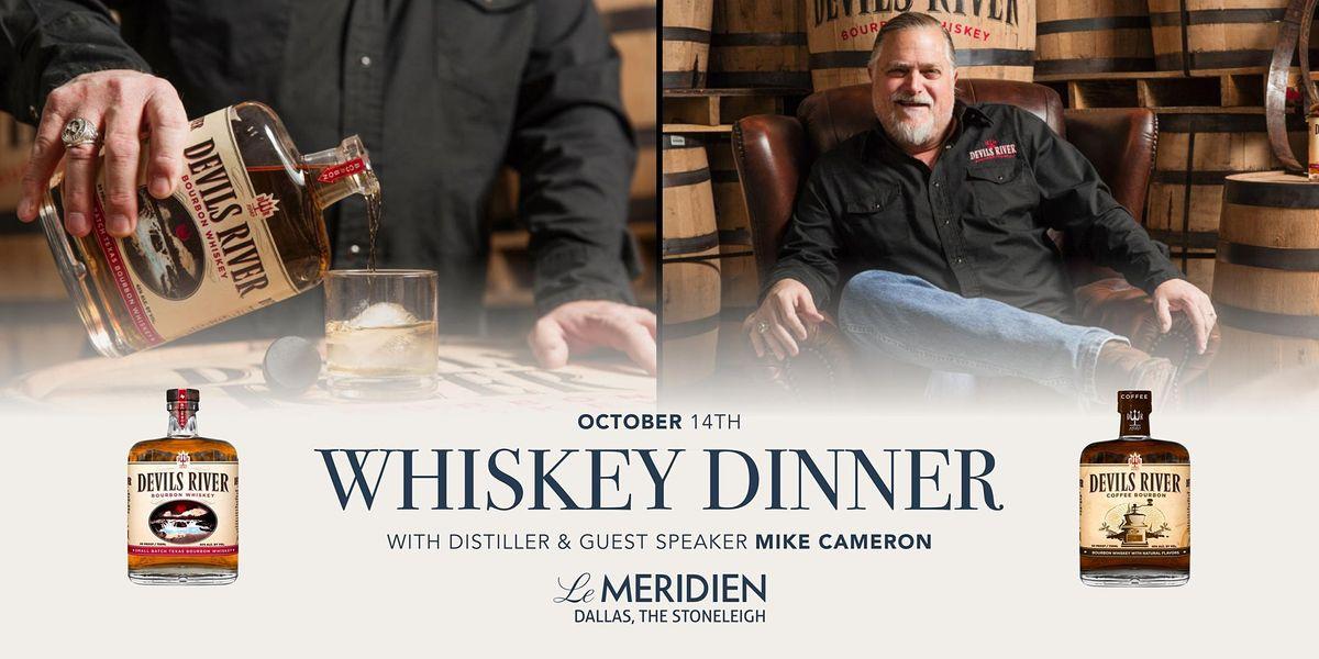Devils River Whiskey Dinner at The Stoneleigh