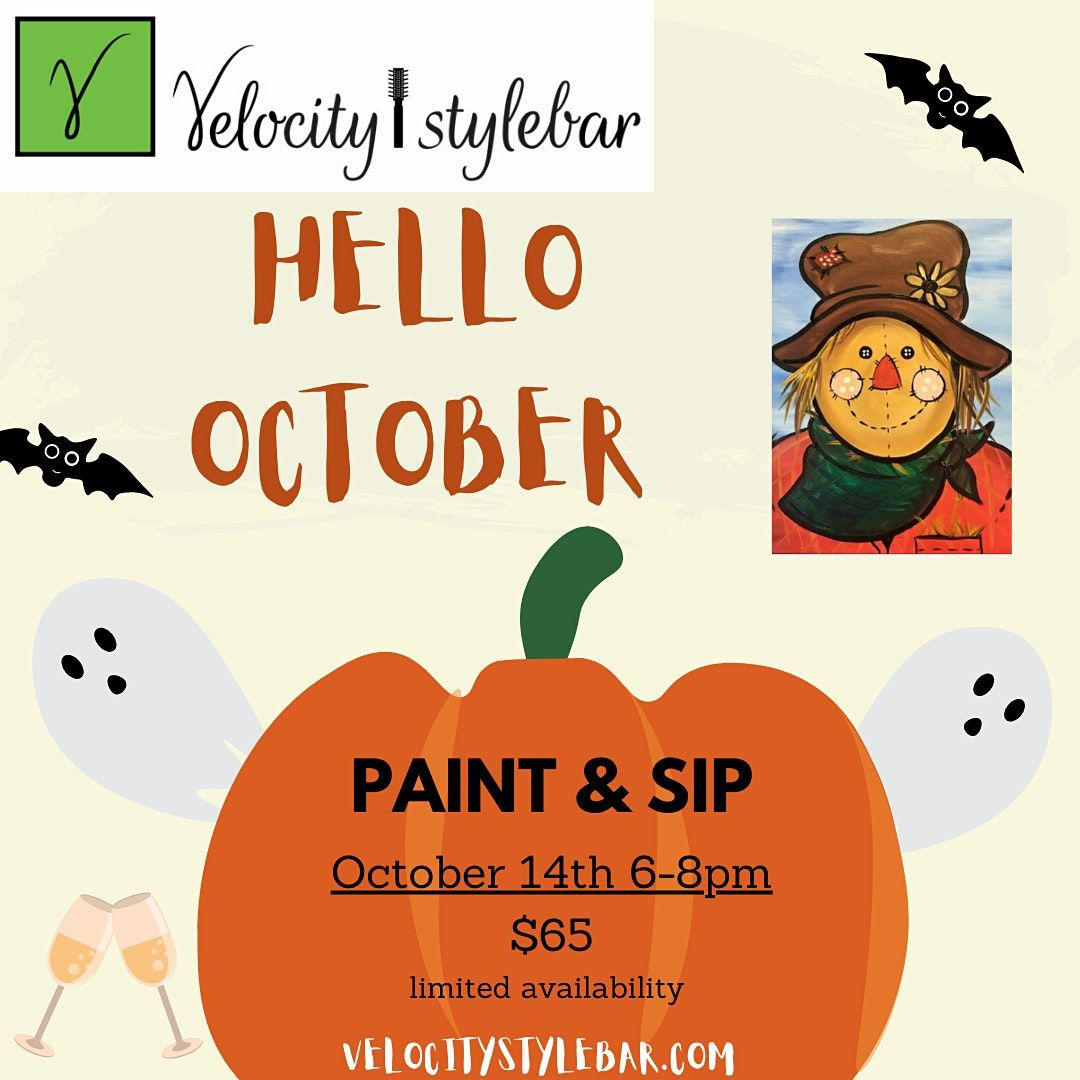 Sip and Paint Halloween Style