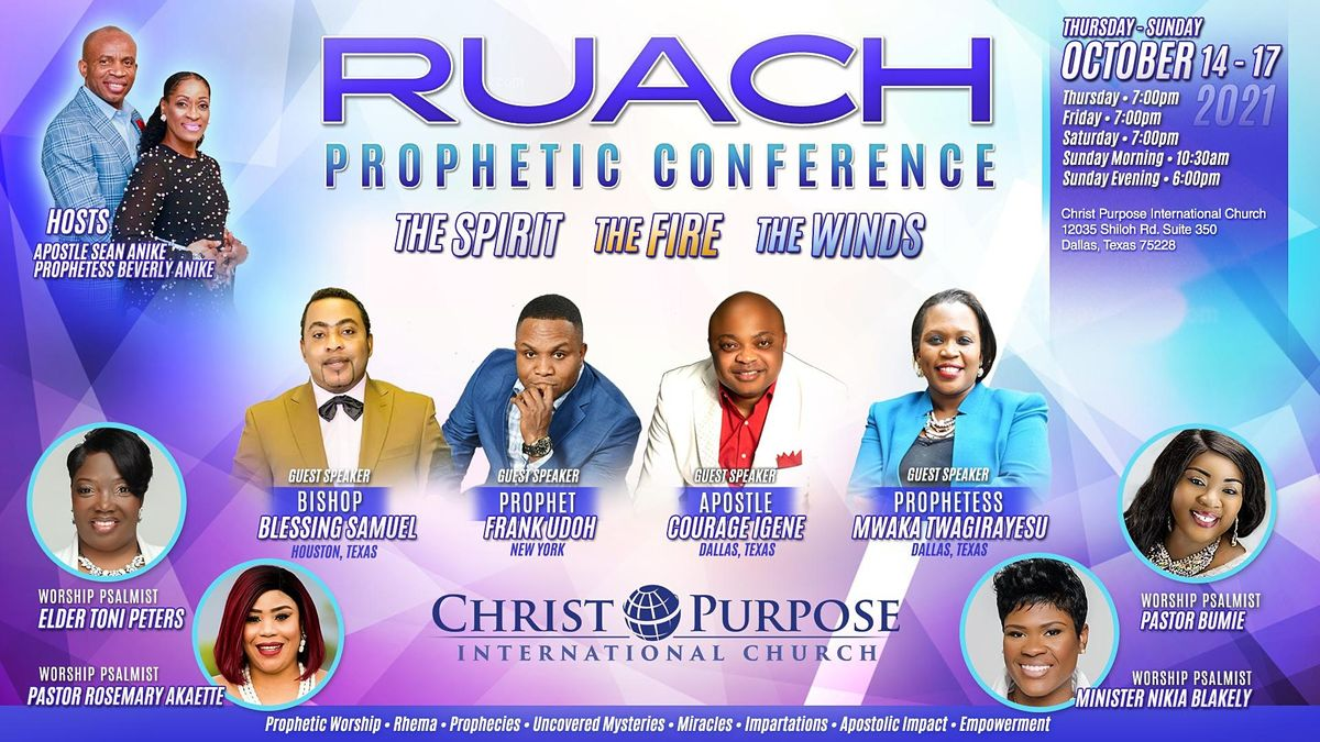 RUACH Prophetic Conference 2021