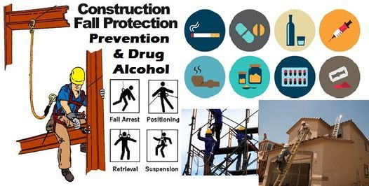 Clases 10 Horas Para SST40 NYC DOB Worker Card 8HR Fall Prevention & 2HR Drug and Alcohol