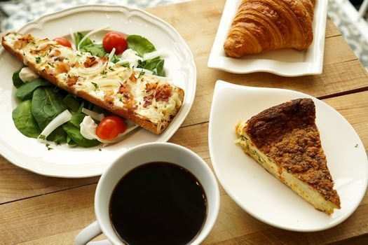 Coffee Connection at French Quiche