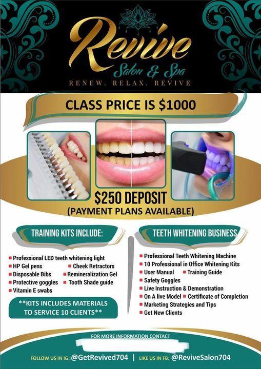 Teeth Whitening Certification