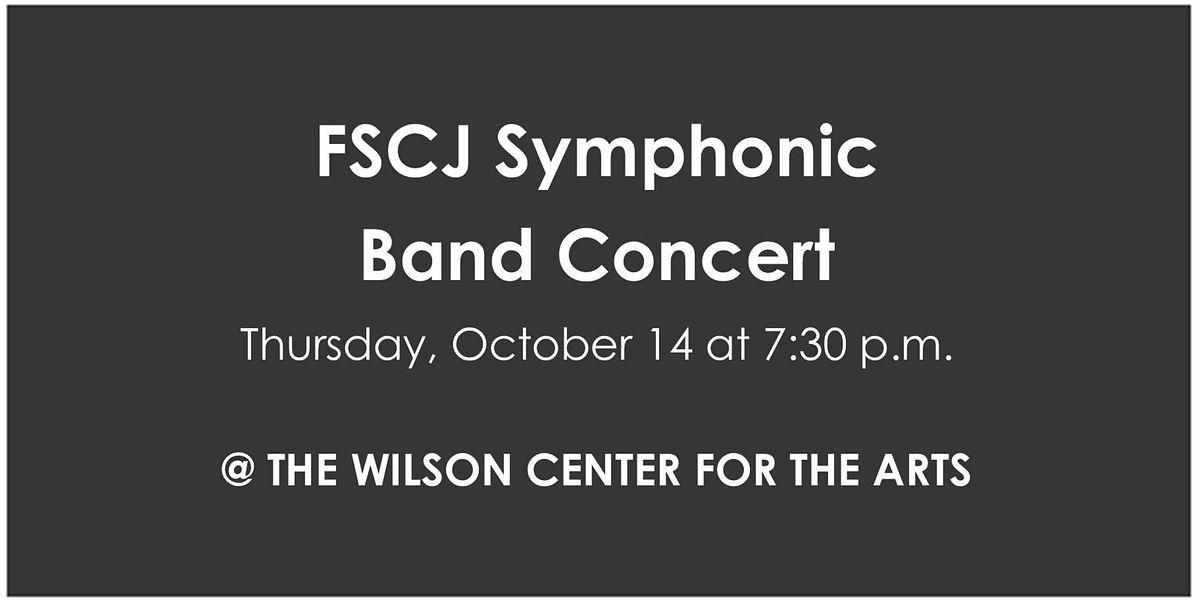 FSCJ Symphonic Band Concert