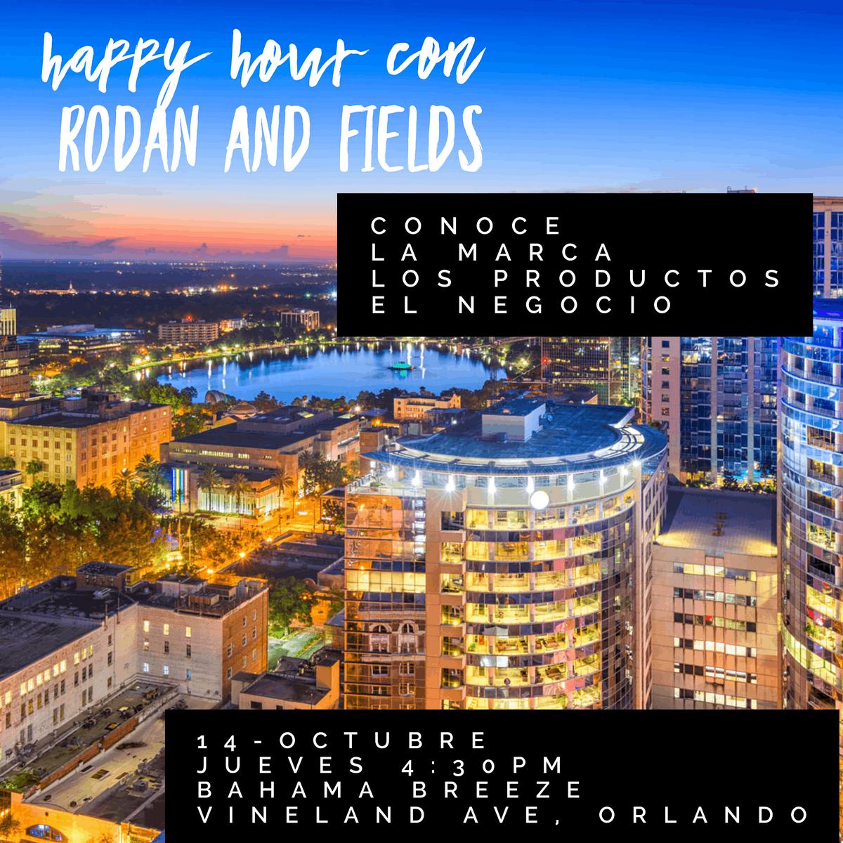 Happy Hour con Rodan and Fields