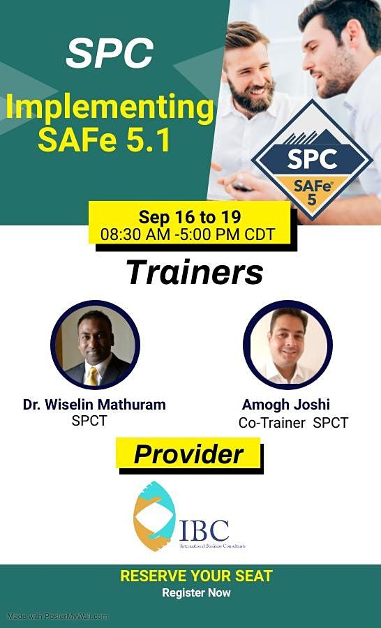 (SPC) : Implementing  SAFe 5.1 -Remote class