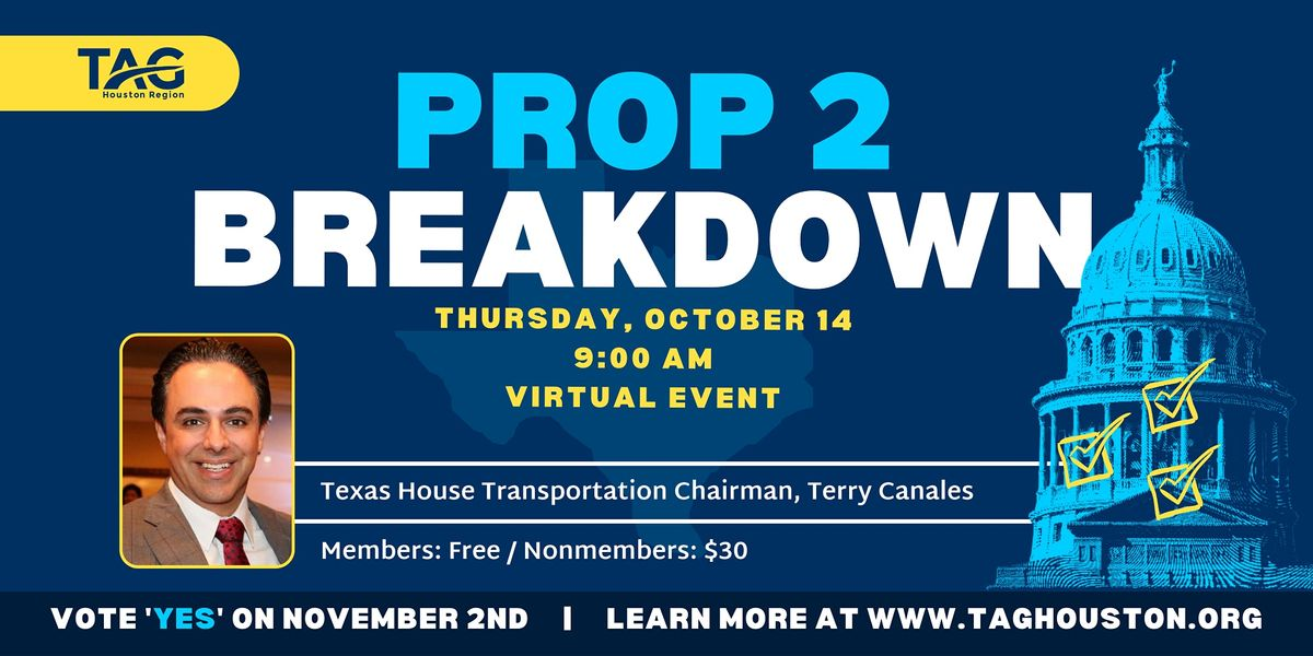 Prop 2 Breakdown with Chairman Terry Canales (HD-40)