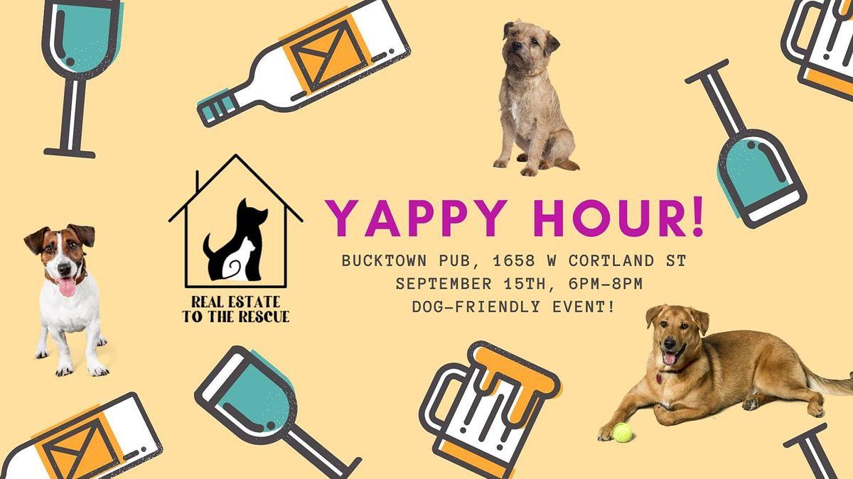 Yappy Hour @ Bucktown Pub!