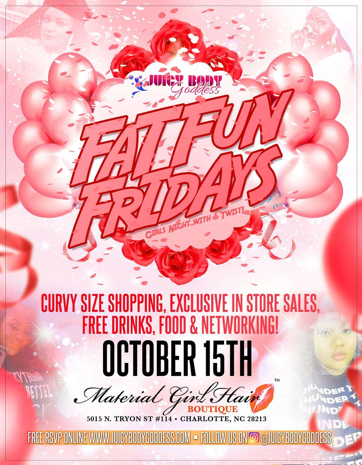 Fat Fun Friday - Curvy Shopping & Networking
