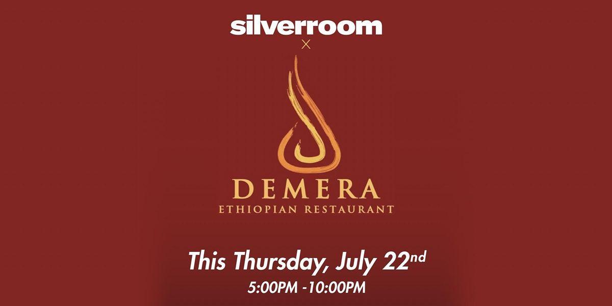 Silverroom x Demera Ethiopian Pop Up at Promontory