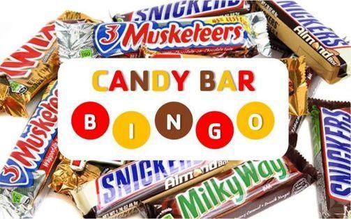 Candy Bar Bingo Pizza