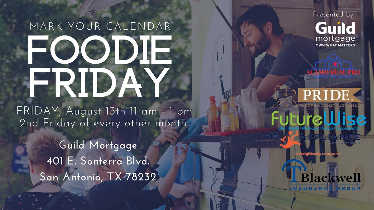 Foodie Friday - every 2nd Friday of the month