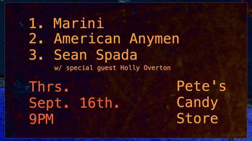 American Anymen\/Marini\/Sean Spada (w\/ Holly Overton)