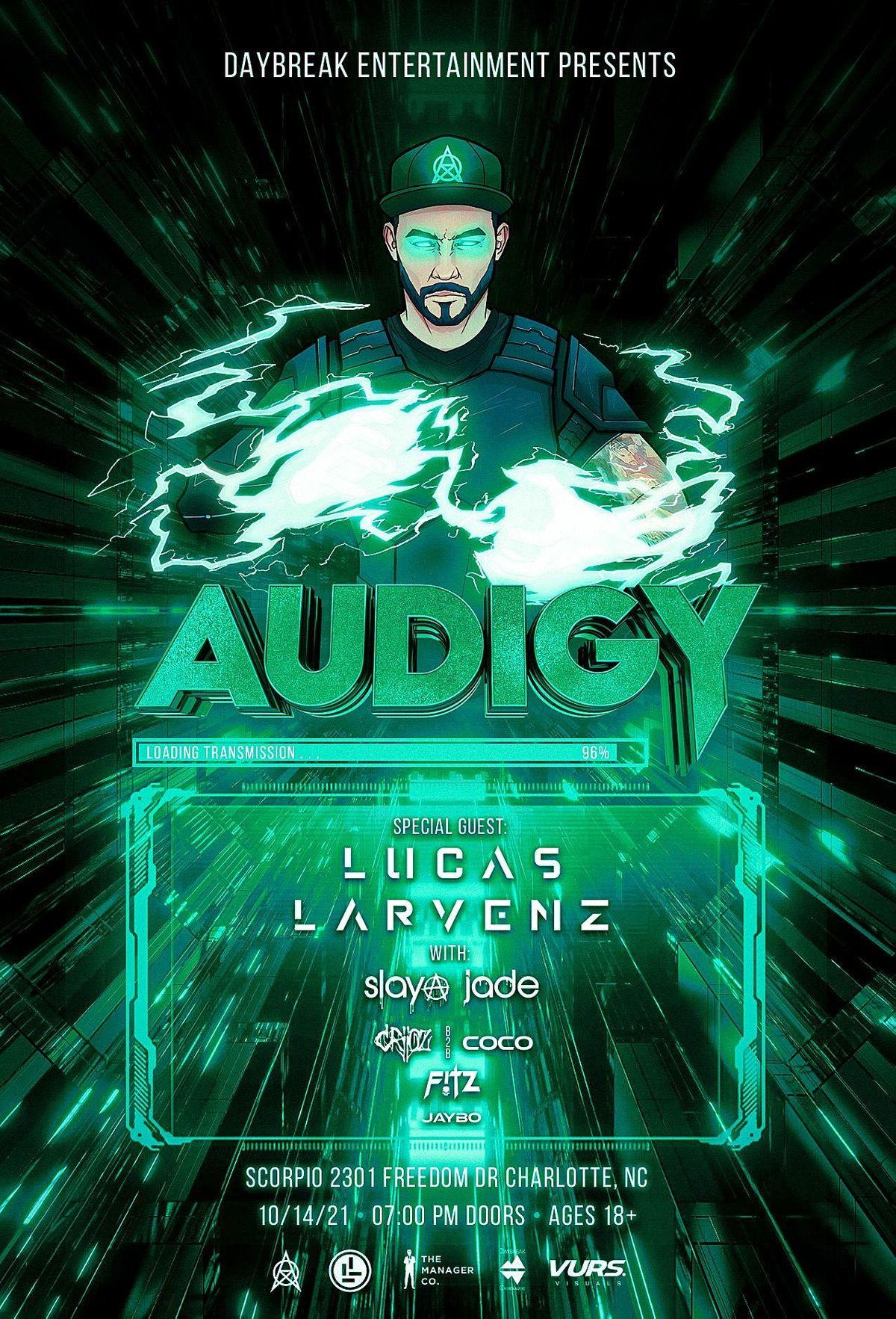 Audigy w\/ Special Guest Lucas Larvenz
