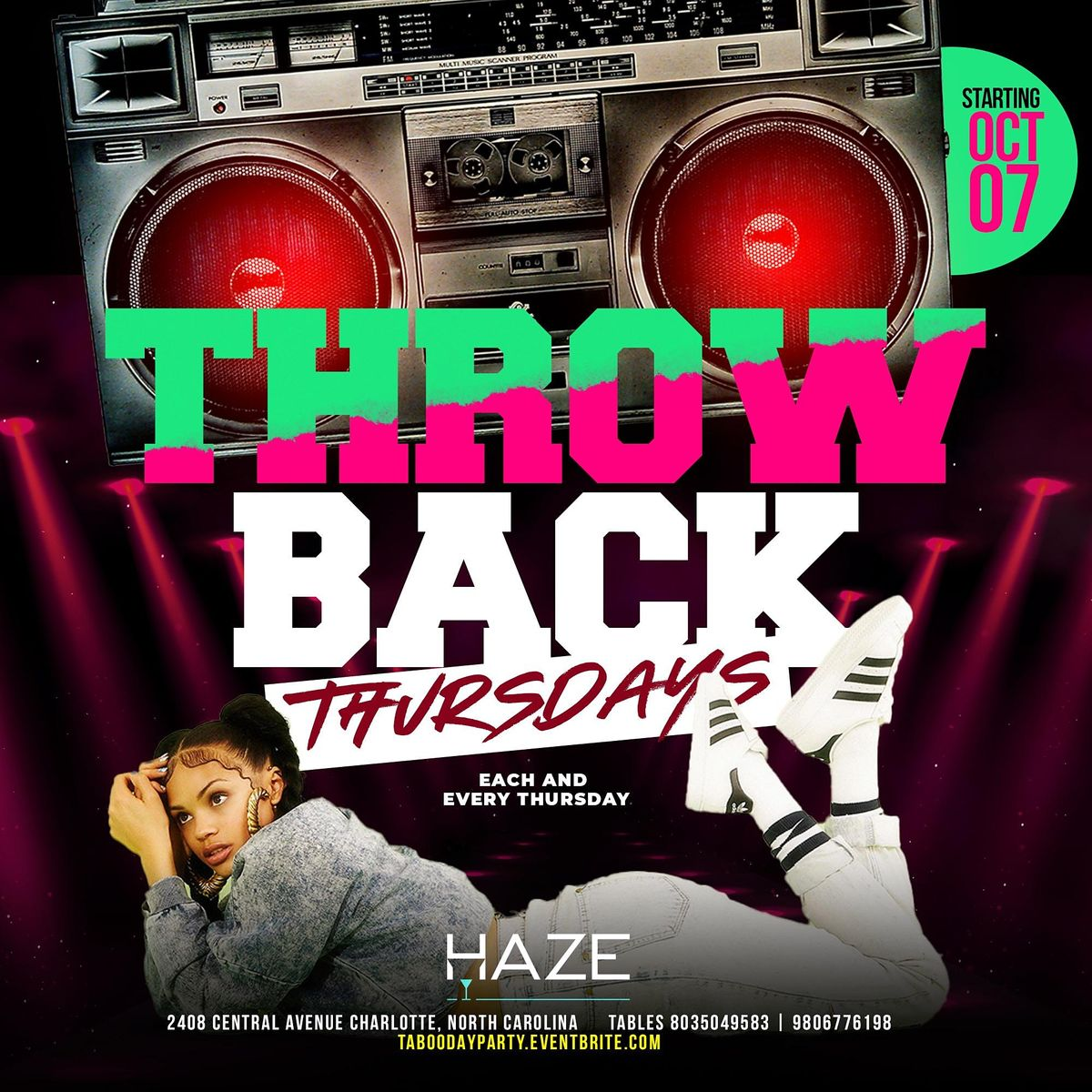 Throwback Thursdays at HAZE Lounge   Playing all the Classics