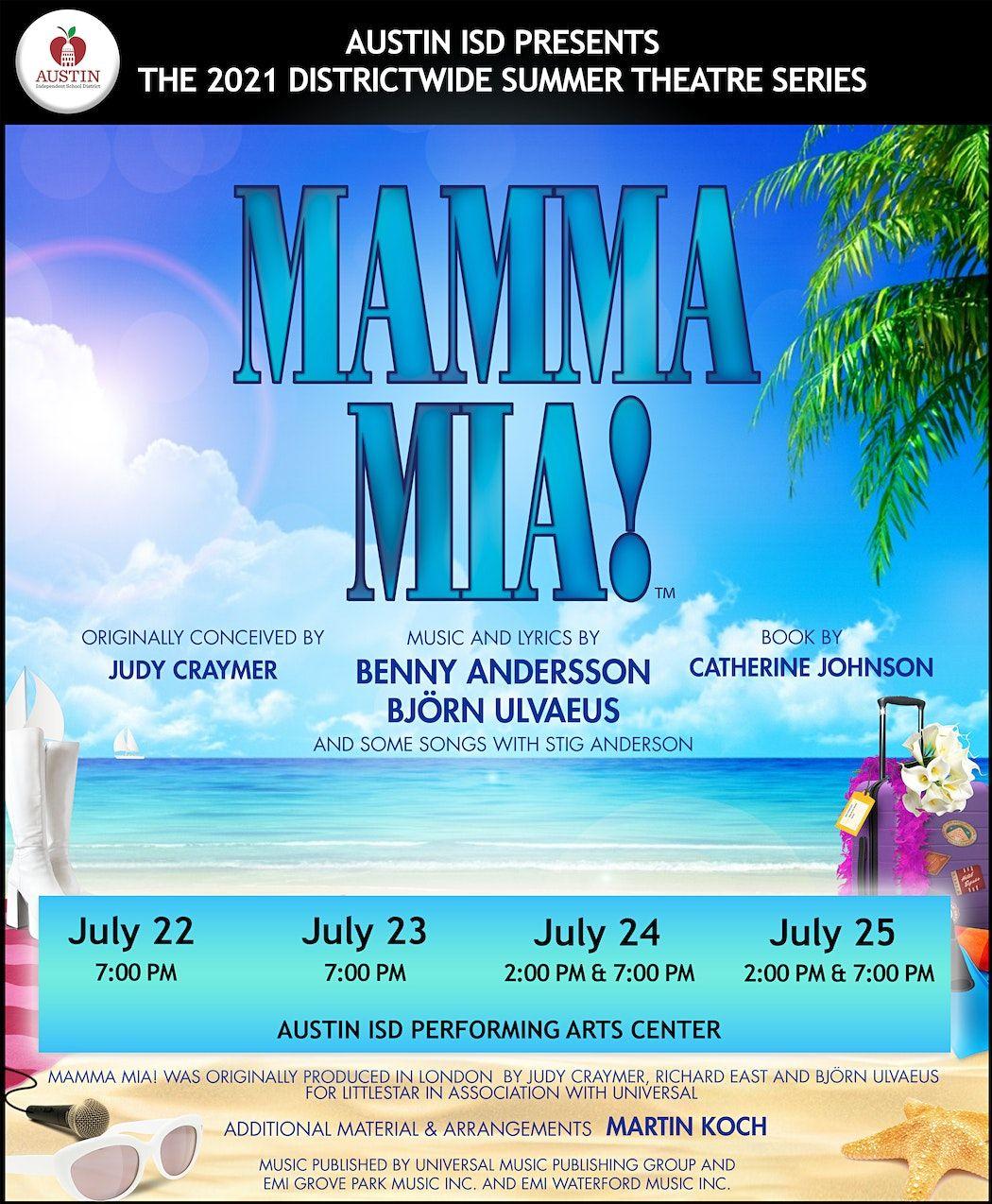 Mamma Mia- (Cast A) Thursday