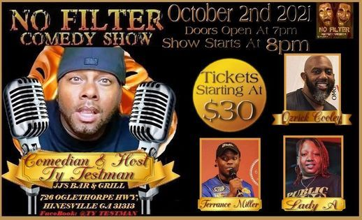 NoFilter Comedy Show
