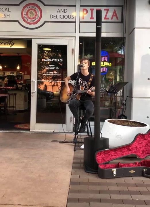 Luke Giese: Live at Tampa Pizza Company, South Tampa