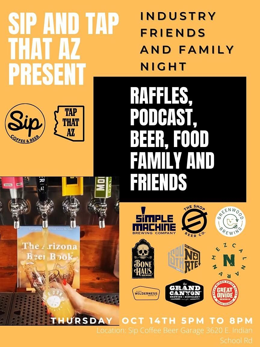 Sip and Tap That AZ Present Sip Coffee and Beer