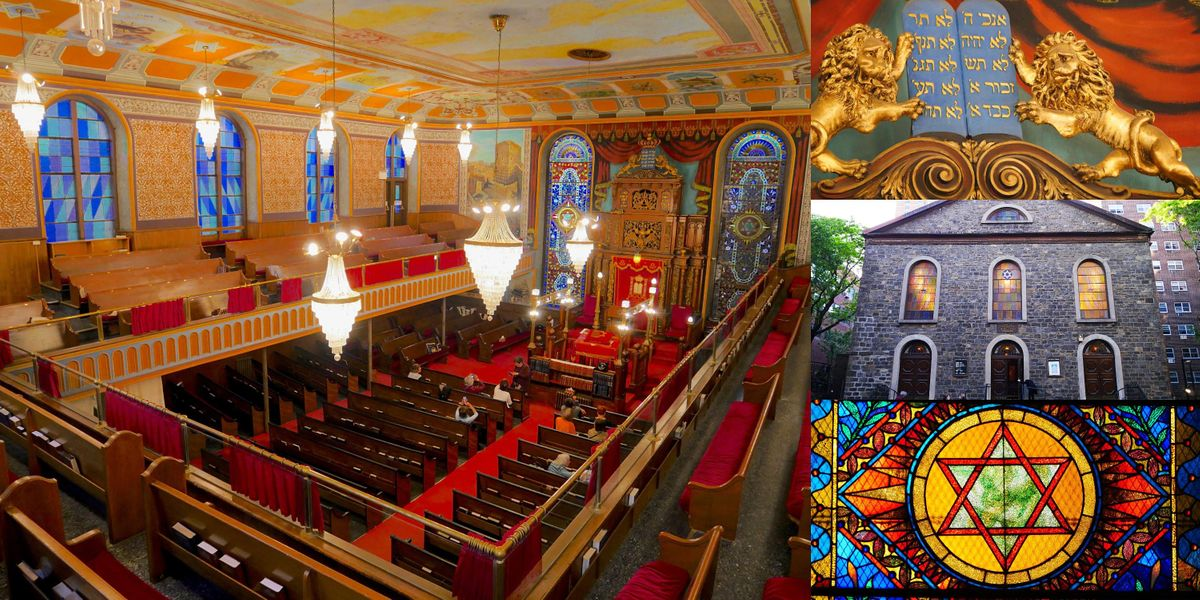Private Lecture & Tour @ Bialystoker Synagogue, Lower East Side Hidden Gem