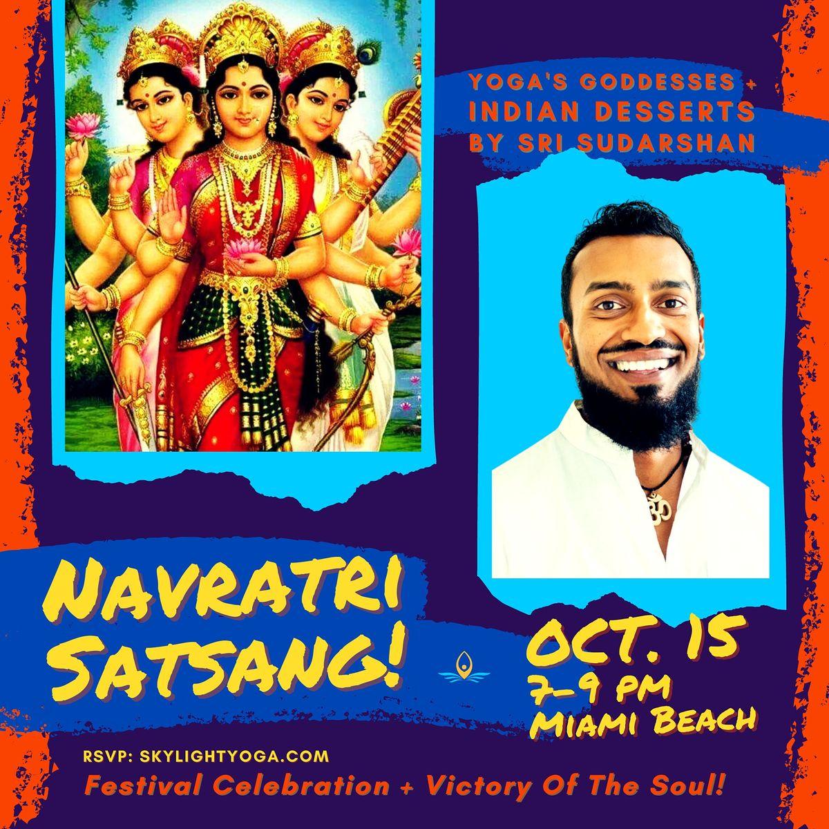 NAVRATRI FESTIVAL: Satsang & Indian Desserts