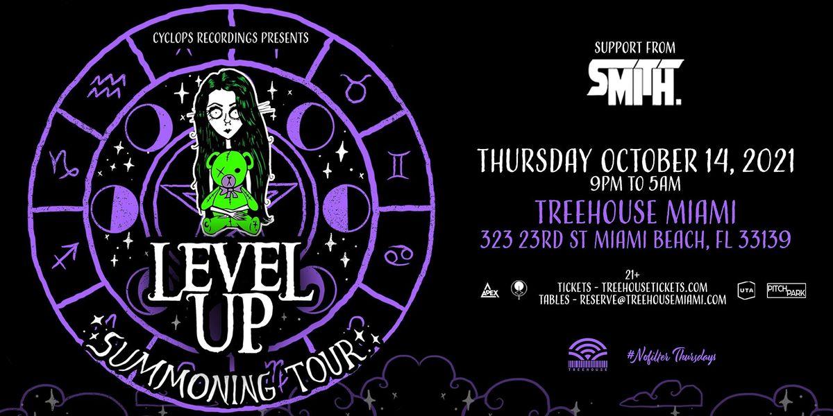 LEVEL UP @ Treehouse Miami