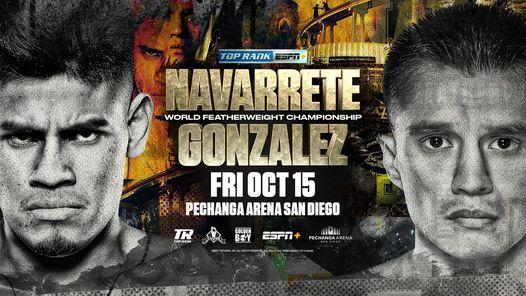 Top Rank Boxing: Emanuel Navarrete vs. Joet Gonzalez
