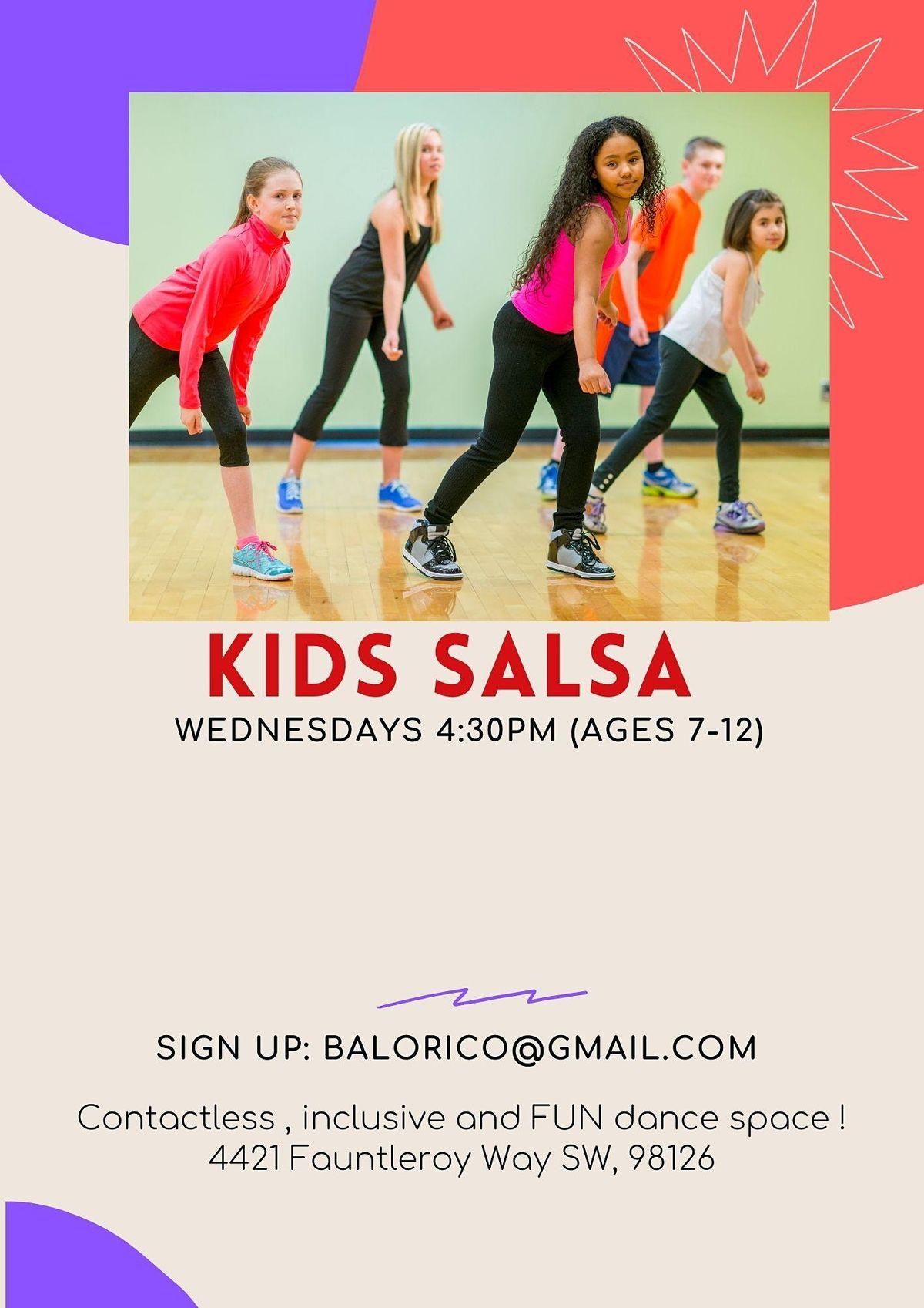 Kids Salsa  FREE CLASS