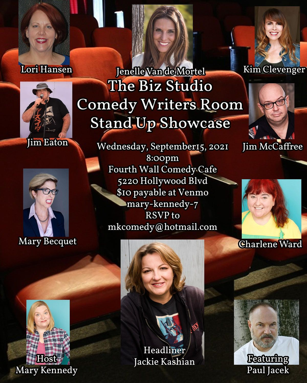 Writer's Room Comedy Showcase-Jackie Kashian Headlines
