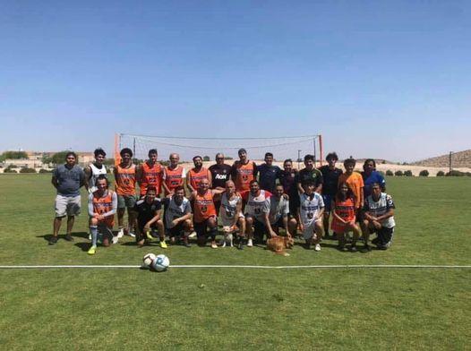 Community Park Soccer Practice