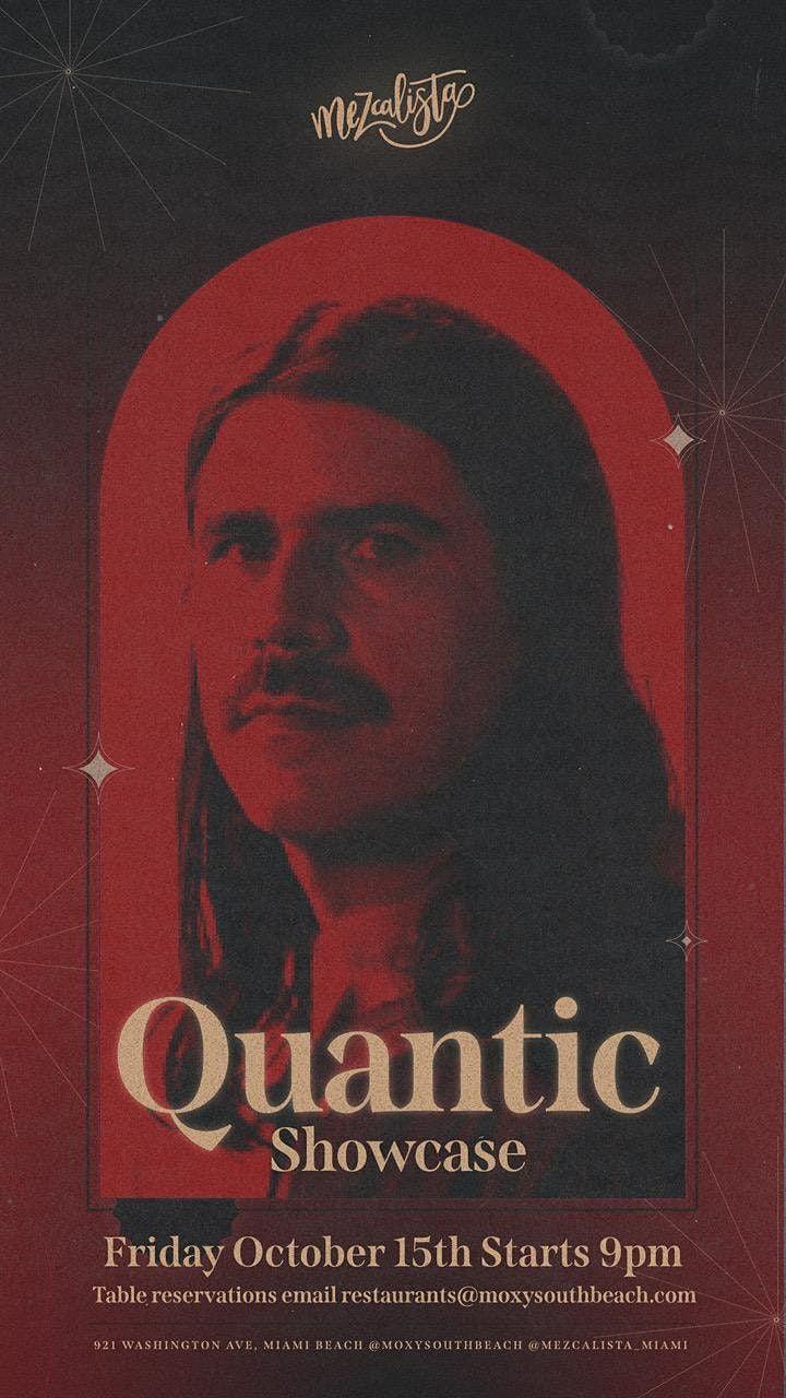DJ Quantic at Mezcalista