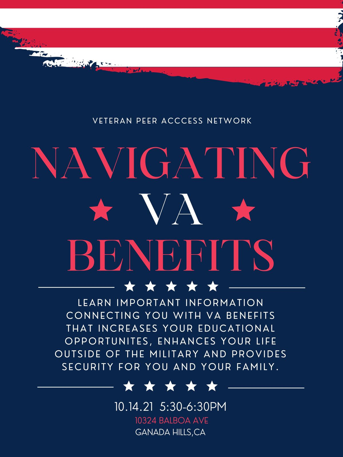 NAVIGATING VA BENEFITS (VPAN)