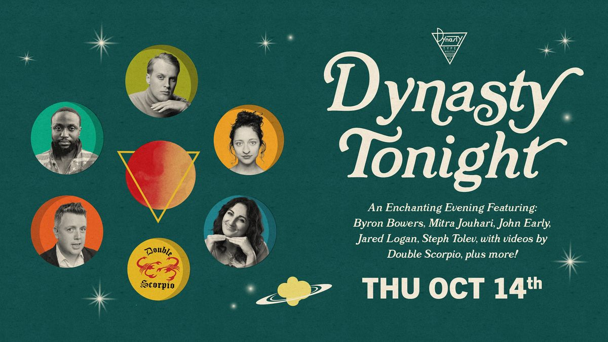 Dynasty Tonight! w\/ Jak Knight, Mitra Jouhari, Ayo Edebiri + More!